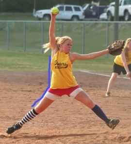 softball pitch