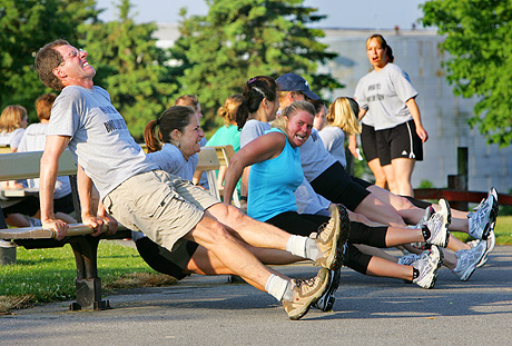 Bootcamp: because pretending you're in the Army is the cool thing to do now