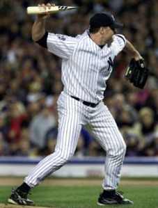 This incident of possible roid rage certainly didn't help Clemens' defense case.