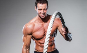 """Progression shmoshmession! Look at my chiseled chest that I absolutely DID NOT get from doing battle ropes!"""