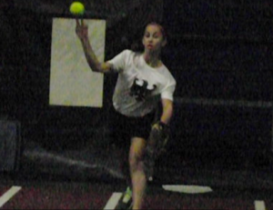 softball throw