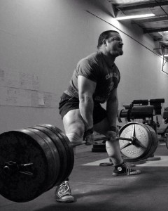 Chris Duffin deadlift